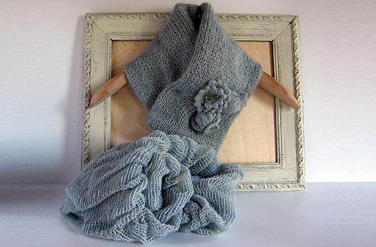 Sciarpe di lana mohair