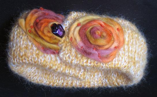 Sciarpa di lana Rosedinverno 11-03