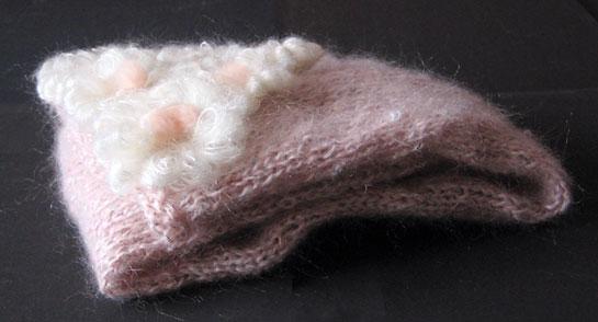 Sciarpa di lana Rosedinverno 11-07