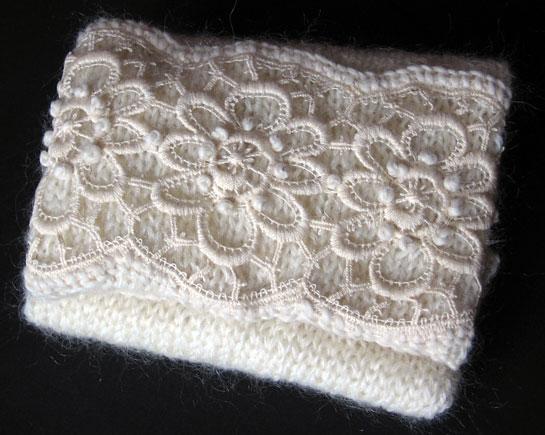 Sciarpa di lana Rosedinverno 11-10