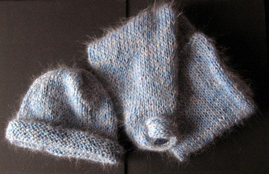 Sciarpa di lana Rosedinverno 11-05
