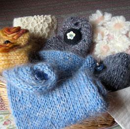Sciarpe di lana Rosedinverno