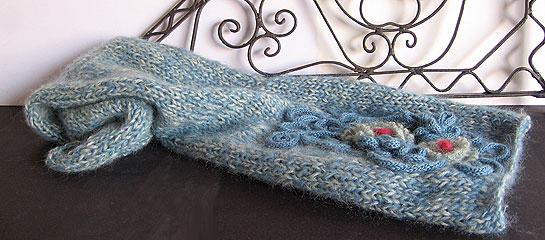 Sciarpa di lana Rosedinverno